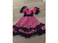 Girls Flamenco dressing up outfit age 4