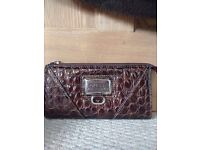 Guess Purse in Crocodile Skin Effect