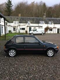 Peugeot 205 gti garage find look