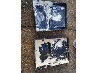 Used Decorating Trays, Spare Paint and Bits (Free)