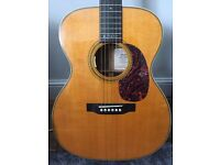 Martin 000-28EC Eric Clapton model acoustic guitar w LR Baggs Anthem pickup system and original case