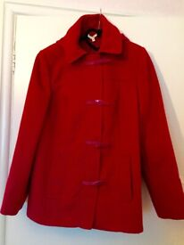 COZY & WARM MARKS & SPENCERS DUFFLE COAT. EXC. CONDITION.