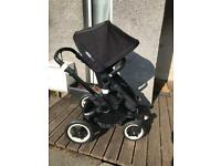 All black bugaboo buffalo ( sold pending drop off )