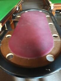 Poker Table. Full size professional.