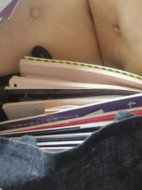 Music books mainly for guitar and ukele