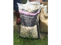 *20mm and 10mm gravel bags*