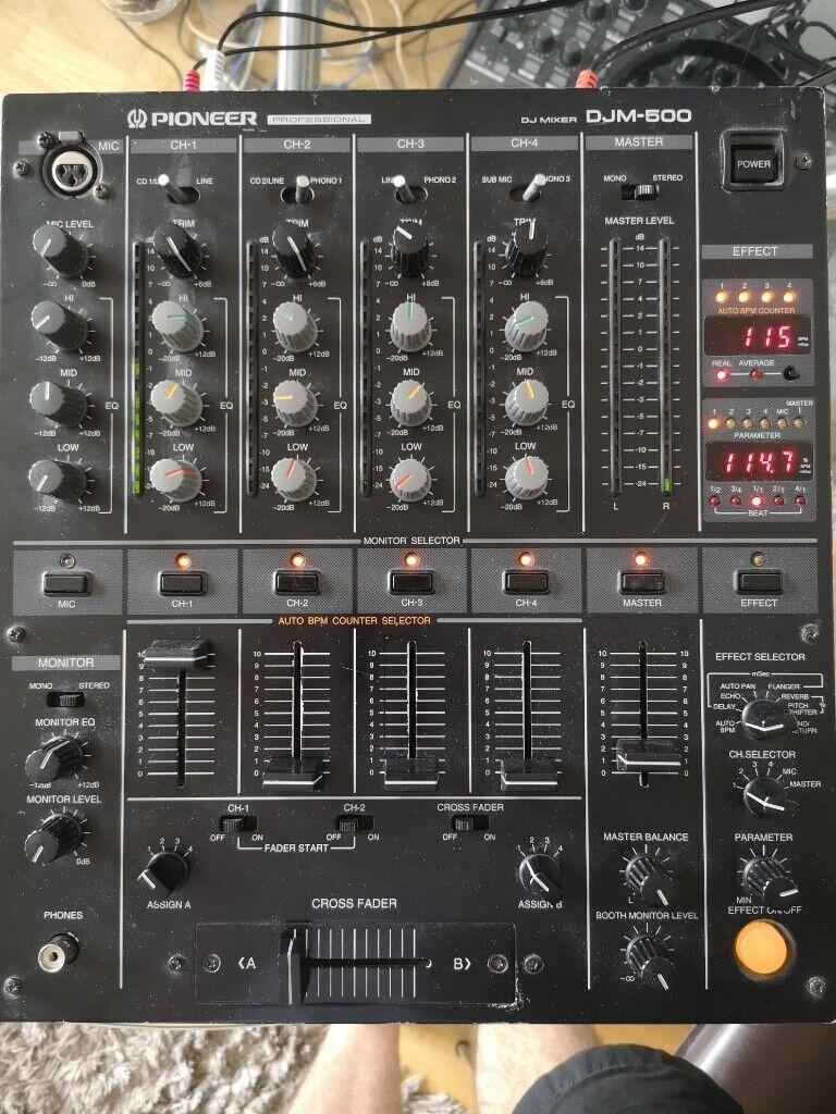 Pioneer DJM-500 Professional 4 Channel DJ Mixer | in Leeds, West Yorkshire  | Gumtree