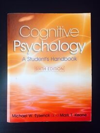 Cognitive Psychology Textbook (Used - Very Good)