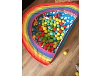 Playmat and ball pit