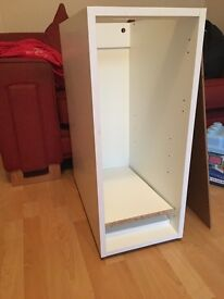 Howdens 300mm cabinet carcus with no door but 2 shelves