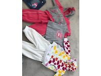 Large bundle of girls clothes 6-12 months