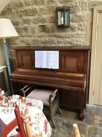 Upright antique Chappell piano, lovely sound and good condition.