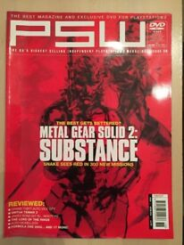 PSW Playstation World Magazine - Issue 36
