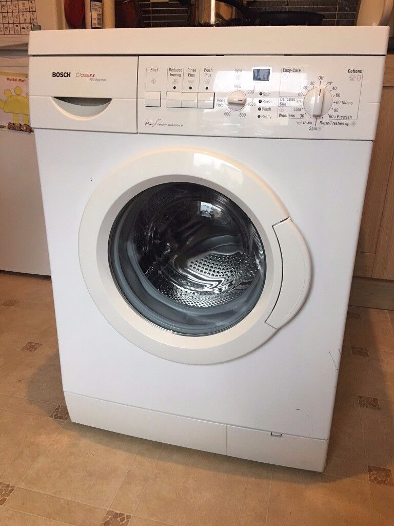 BOSCH Classixx Exp. 6kg Washing Machine 1400 rpm! Good and clean condition!FREE delivery in Bristol!