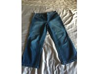 Next Size 8 Petite Cropped Jeans, Like New