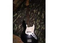 Fender squire bass guitar