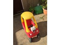Kids Little Tykes coupe car