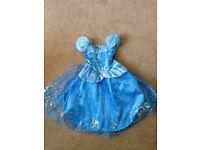 Disneyland Paris Cinderella Costume Dress for Kids (4 years) RRP £60