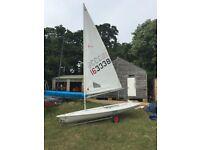 Laser 1 sailing dinghy - 1998 - Southampton