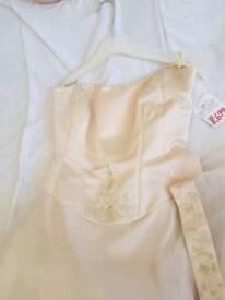 Ivory/goldy Wedding Dress size 12
