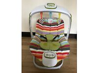 Mamas and Papas Magic Astro Baby vibrating Bouncer Chair with light show, music and MP3 Player
