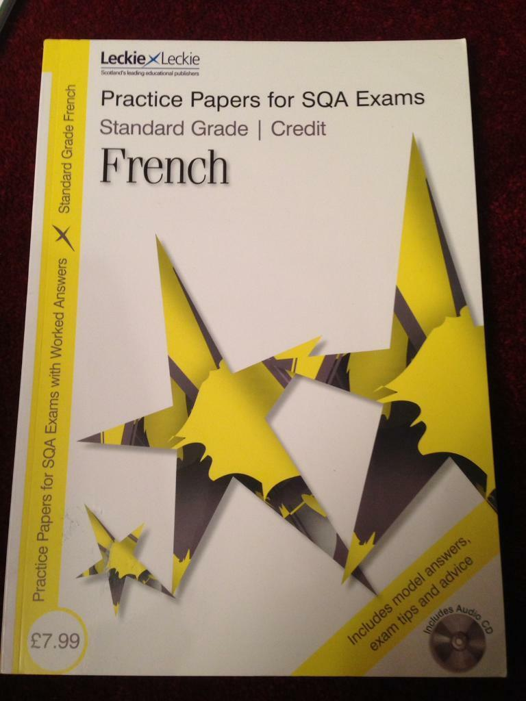 Practice Papers Standard Grade French