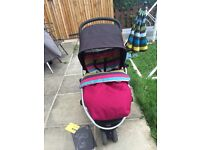 Mamas and Papas Zoom 3 in 1 travel system