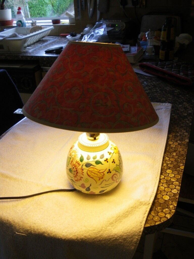 Poole pottery table lamp art deco style working order and perfect poole pottery table lamp art deco style working order and perfect condition mozeypictures Images