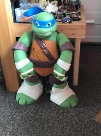 Large ninja turtles play set