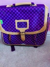 Purple Tanns bag