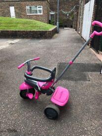 Pink girls Trike