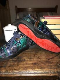 Louboutin python sneaker
