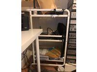 Ikea white basic trolley