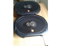 """JBL GTO935 6"""" x 9"""" 300 WATT 3-WAY COAXIAL CAR LOUD-SPEAKERS"""