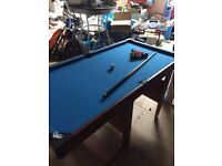 4ft fold up pool table