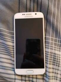 Samsung galaxy S6 WHITE 64gb