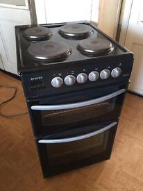Stoves electric cooker with fan assisted oven