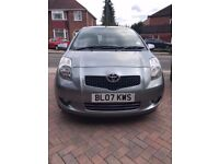 Toyota Yaris 1.3 Petrol 5 door, VVT-i hatchback low mileage band