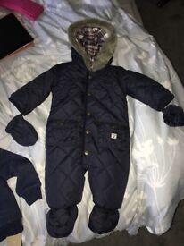 Snow suit boys