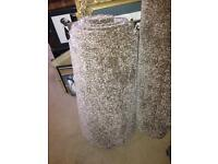 2 large lengths of carpet (6ft X 5ft) and (17 ft X 2.7 ft)