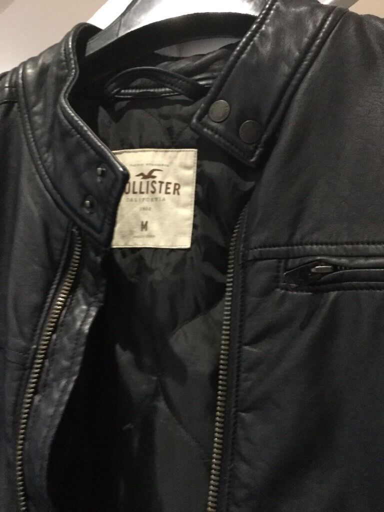 Leather jacket cost - Holister Leather Jacket Cost 120 Asking 40 In Matson Gloucestershire Gumtree