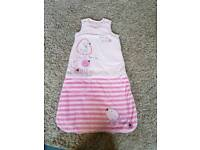 Baby girls sleeping bag
