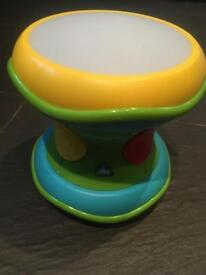 ELC music and lights drum