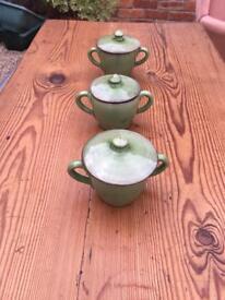 3 conserve jars