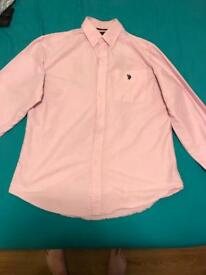 Ralph Lauren Pink Shirt - Size Medium
