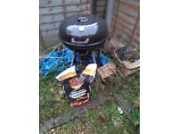 BBQ plus spare charcoal and tools 15 pounds