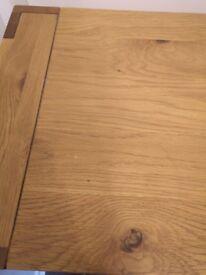 Solid wooden side board