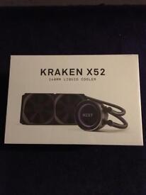 NZXT Kraken x52 BN Sealed