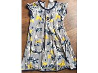 Girls mini boden dress age 4-5