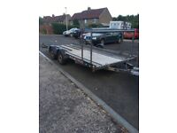 Brain James 18ft trailer A1 condition